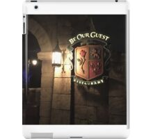 Be Our Guest Restaurant  iPad Case/Skin