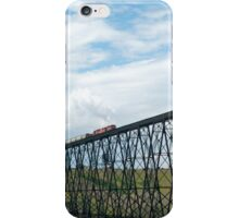 Train on the Bridge iPhone Case/Skin