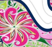 Vineyard Vines Floral Sticker
