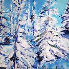 December's Solitude by Helena Bebirian