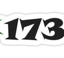 1738 (star) Sticker