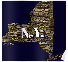 New York State Poster