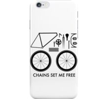 Chains Set Me Free iPhone Case/Skin