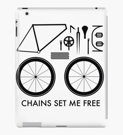 Chains Set Me Free iPad Case/Skin