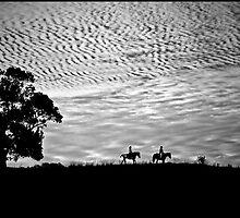 Riding the Range by John Van-Den-Broeke