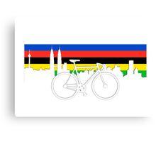 Cycle Kuala Lumpur Canvas Print