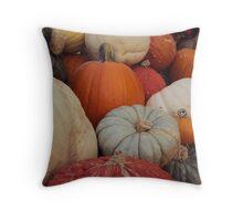 Pile on gourd Throw Pillow