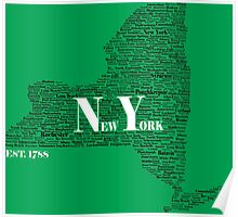 New York State Earth Day Edition Poster