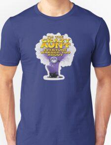 Purple Minion Crazy Aunt funny T-Shirt