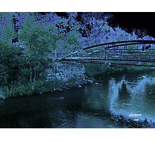 Blue Moon Crossing Photographic Print