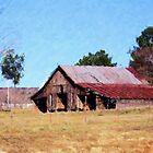 Wisconsin Barn by Wayne George