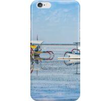 Sanur Boat Reflection iPhone Case/Skin
