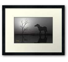 One Is A Lonely Number-2 Framed Print