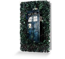 Police Box in The Garden Hoodie / T-shirt Greeting Card