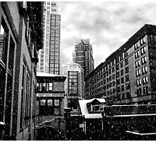Winter In The City Of Hope Photographic Print