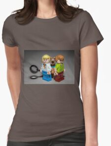 Fred, Shaggy and Scooby Doo Womens Fitted T-Shirt