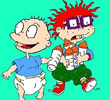 Rugrats Tommy and Chuckie by mbermudez24