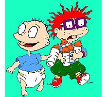 Rugrats Tommy and Chuckie Photographic Print