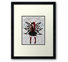 ~Gothic fairy~ Framed Print