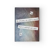 In Dreams - Harry Potter Dumbledore Quote Hardcover Journal