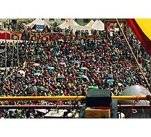 holy crowds batman. northern india Photographic Print