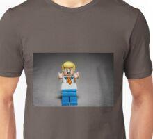 Scared Fred Jones Scooby Doo Unisex T-Shirt