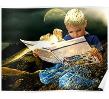 WITHIN THE MAGICAL KINGDOM OF A BOOK Poster