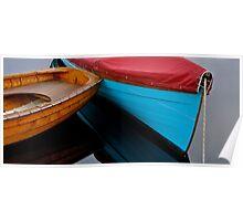 Handmade Boats Poster