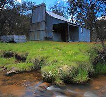 Faithfull's Hut  Buckety Plain by Donovan wilson