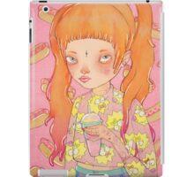 Orange Fluffy iPad Case/Skin
