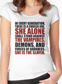 """In every generation..."" Women's Fitted Scoop T-Shirt"