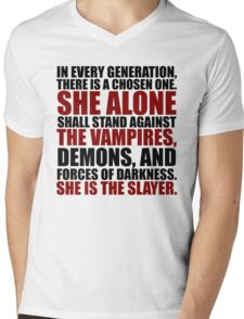 """In every generation..."" Mens V-Neck T-Shirt"