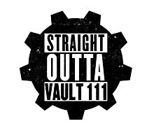 Straight Outta Vault 111 Photographic Print