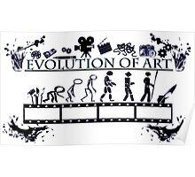 Evolution of Art  Poster