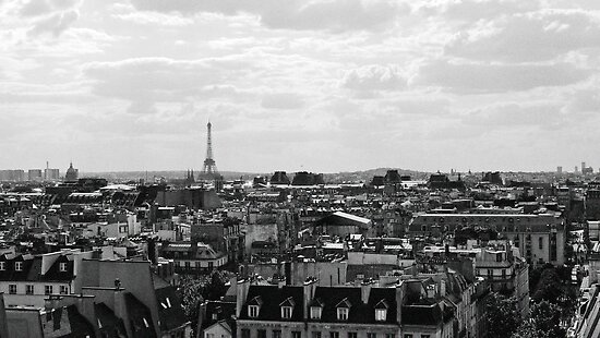 Paris Skyline by Connor Mackenzie