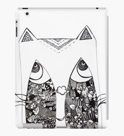 Cat Paradox iPad Case/Skin