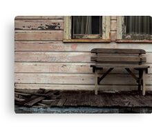 Johnny and Dave's Hideaway Canvas Print