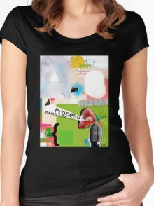 Do Not Read Women's Fitted Scoop T-Shirt