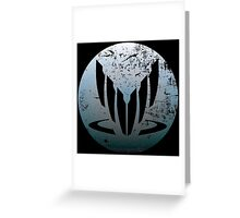 Spectre Symbol Greeting Card