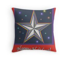 Star Memory Throw Pillow