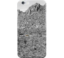 Joshua Tree Landscape with Saab iPhone Case/Skin