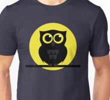Halloween Shabby the Night Owl Unisex T-Shirt