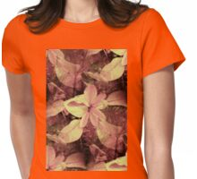 Autumn Leaves Womens Fitted T-Shirt