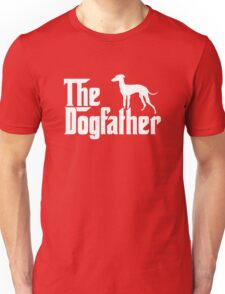 The Dogfather Italian Greyhound Dogs Unisex T-Shirt
