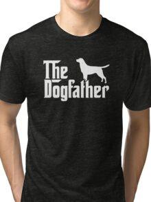 The Dogfather Labrador Retriever Dogs Tri-blend T-Shirt