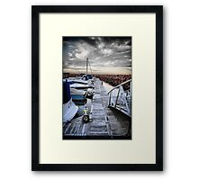 Stormy Port Stephens Framed Print