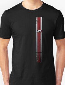 Battle Damaged Armor Stripe Unisex T-Shirt