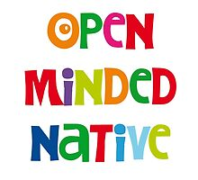 open minded native by Hell-Prints