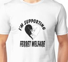 Supporting Ferrets Unisex T-Shirt