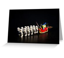 Darth Santa Greeting Card